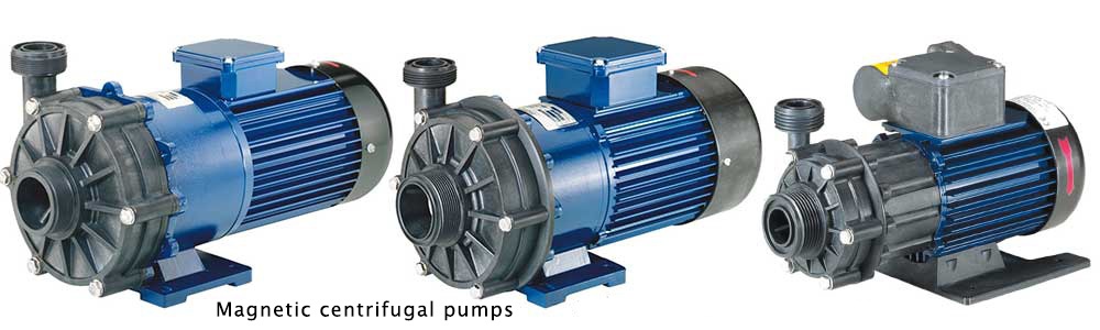MAGNETICALLY CENTRIFUGAL PUMPS RM